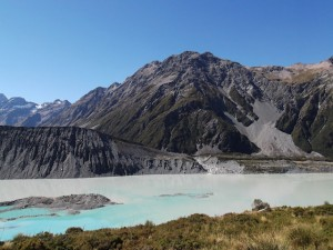 V Mount Cook national park