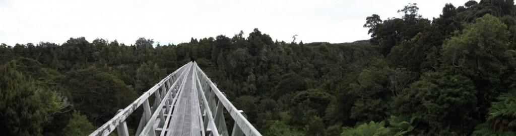 Viadukt na Hump Ridge Tracku
