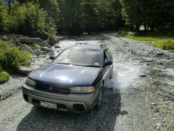 Autem po Novém Zélandu