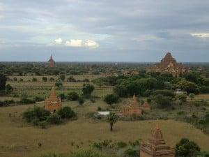Pagody v Baganu.