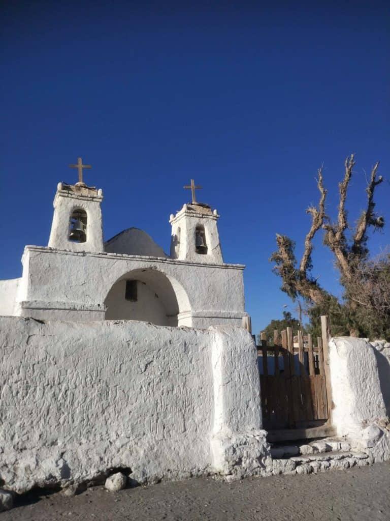 Kostel v Chiu Chiu - nejstarší v chile