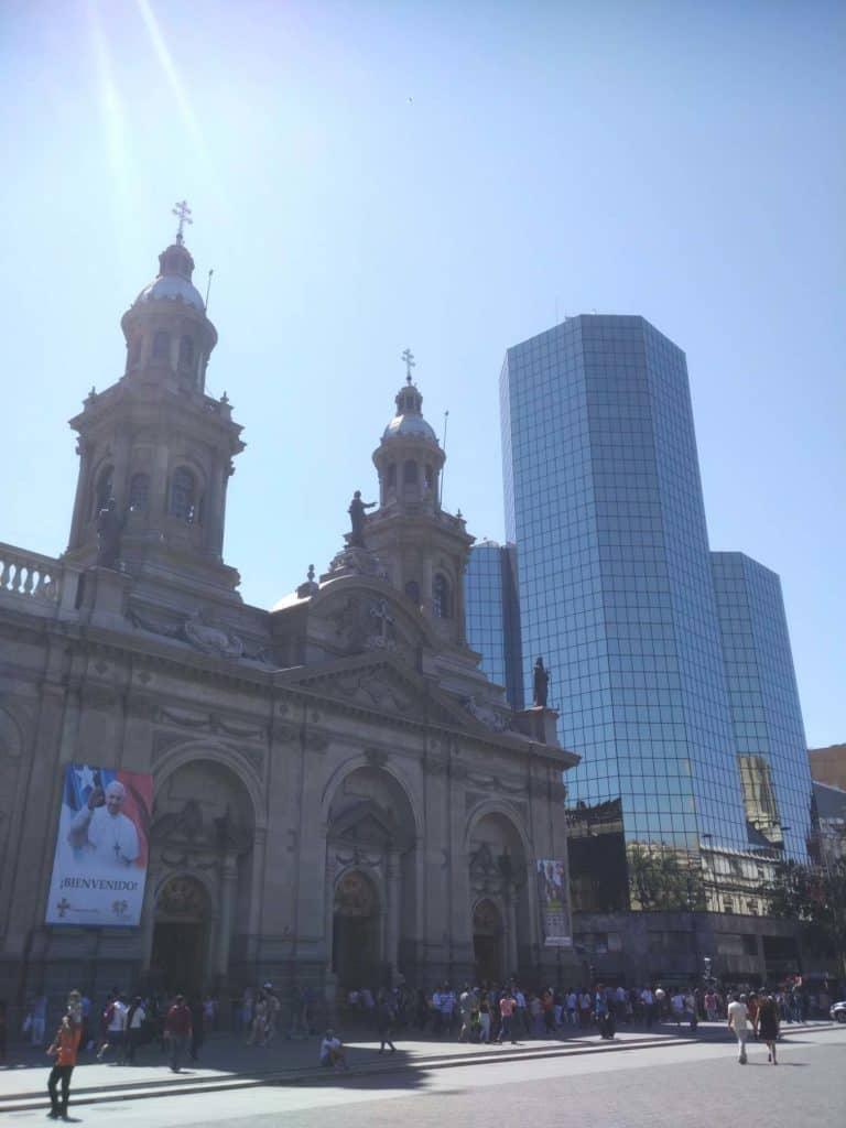 Náměstí Plaza de Armas - santiago de chile