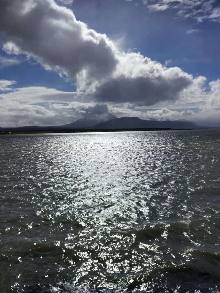 záliv v puerto natales