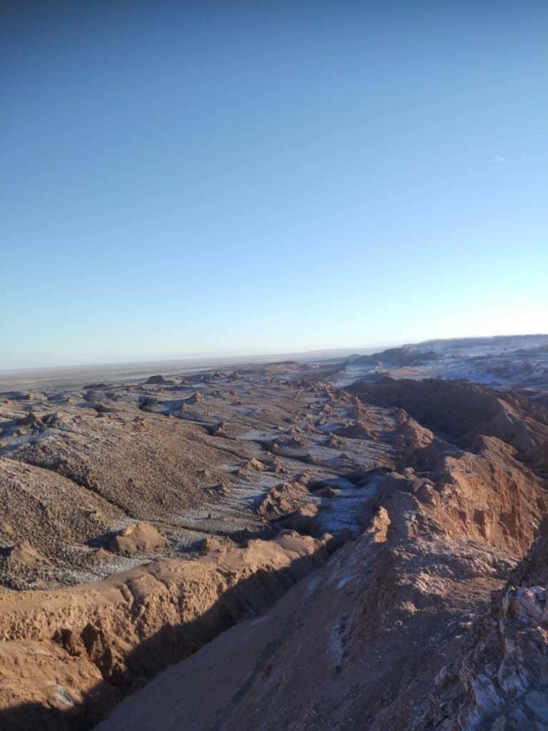 Výhledy do Valle de Luna