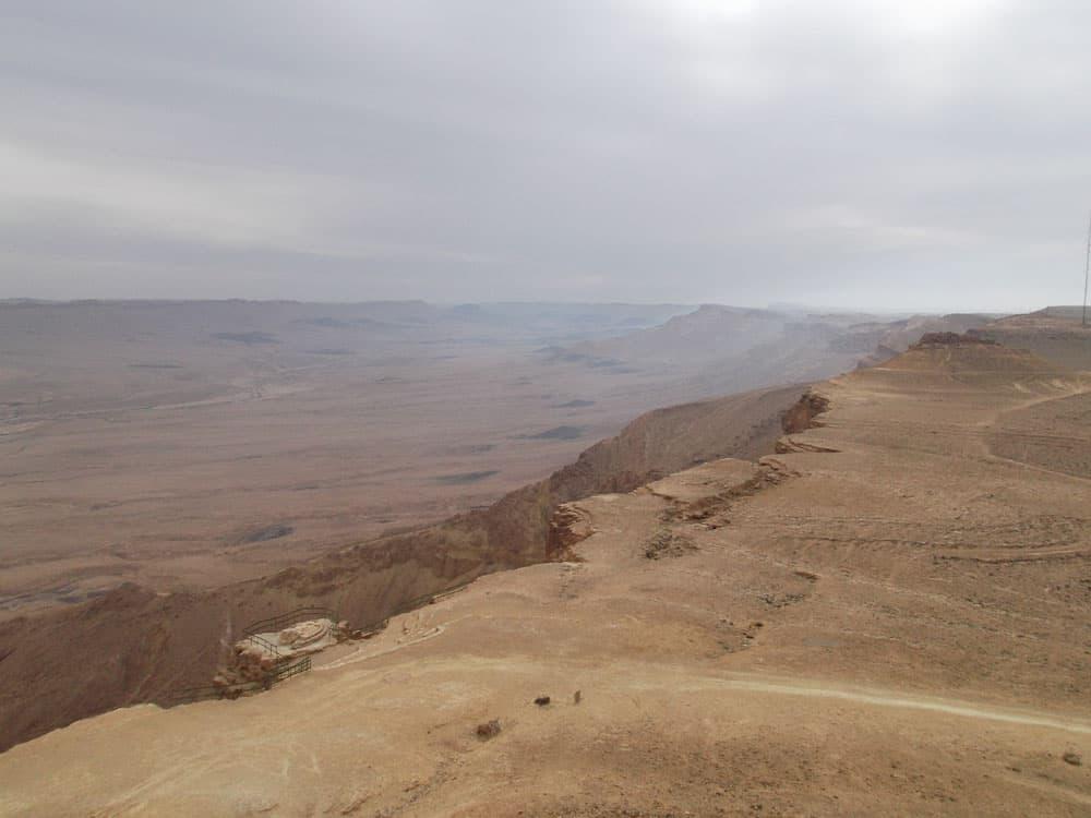 Mitzpe Ramon kráter