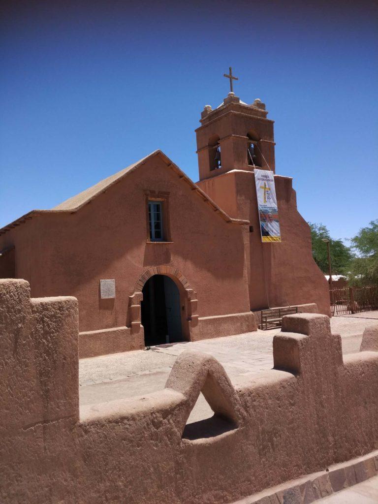 Kostel v San Pedro de Atacama